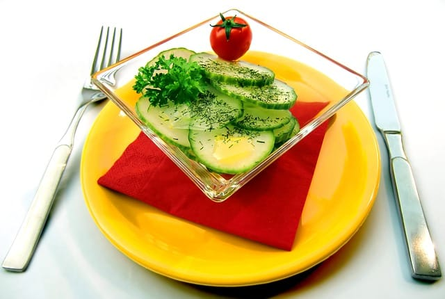 salade, santé, sans gluten